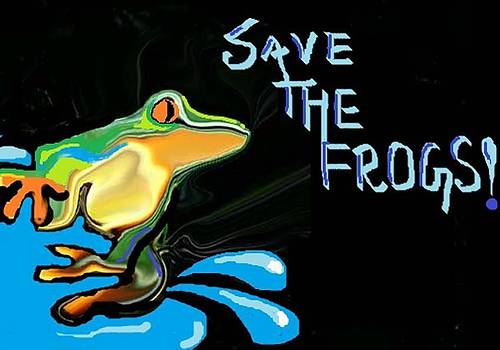 Save The Frogs by Poornima M