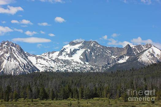 Sawtooths near Stanley Idaho 1 by Linda Meyer