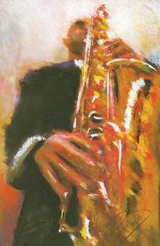 Sax a Mania by Richard Booker