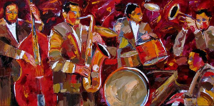 Sax And Friends by Debra Hurd