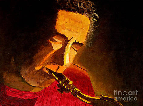 Sax Man by Anthony Dunphy