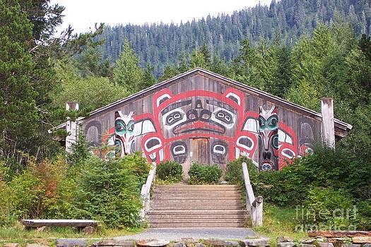 Saxman Totem Park  by Frances  Dillon