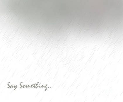 Say Something by Trilby Cole