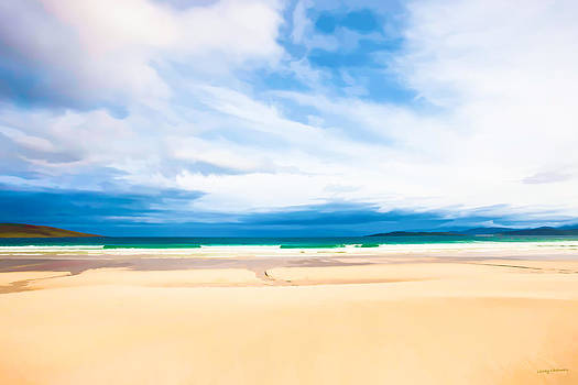 Scarista sands by Lesley Chalmers