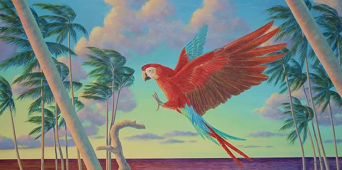 Scarlet Landing  by Bonnie Golden