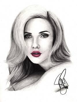 Scarlett Johansson by Rosalinda Markle