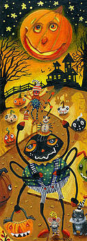 Scary Scary Halloween Night by Jacquelin Vanderwood