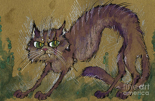 Angel  Tarantella - Scary tomcat