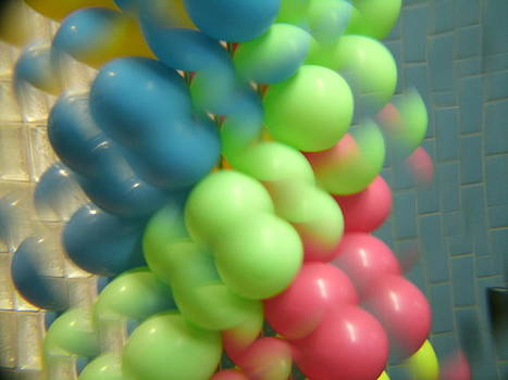 Artists With Autism Inc - Scattered Balloons
