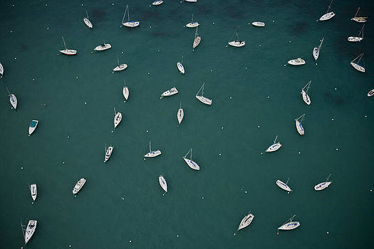 Scattered Boats by Joe Wigdahl