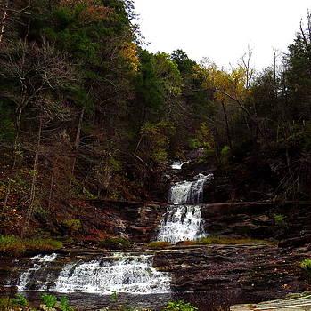 Scenic Kent Falls by Stephen Melcher