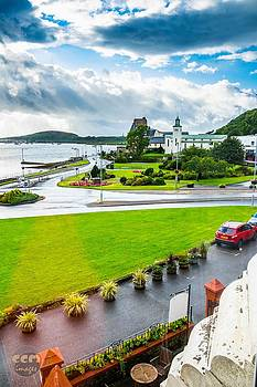 Scenic Oban Scotland by Cliff C Morris Jr