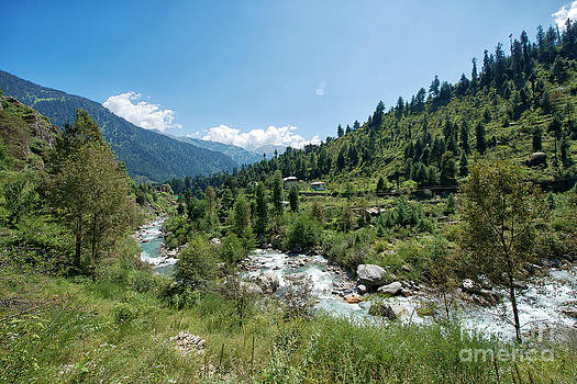 Scenic Town of Old Manali by Yew Kwang