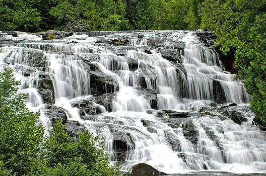 Scenic Waterfall by Hans Castleberg