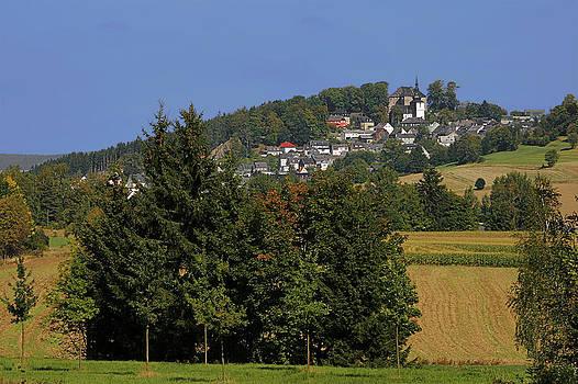 Christine Till - Schauenstein - A typical Upper-Franconian town