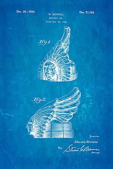 Ian Monk - Schnell Pontiac Chief Hood Ornament Patent Art 1926 Blueprint