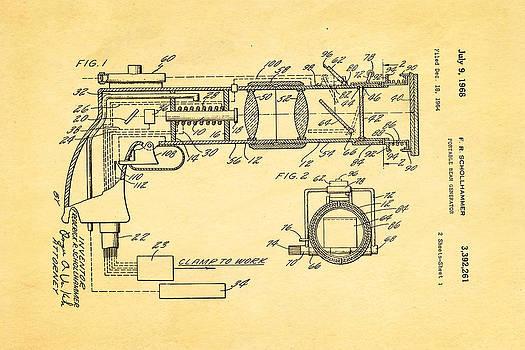 Ian Monk - Schollhammer Electron Beam Gun Patent Art 1968