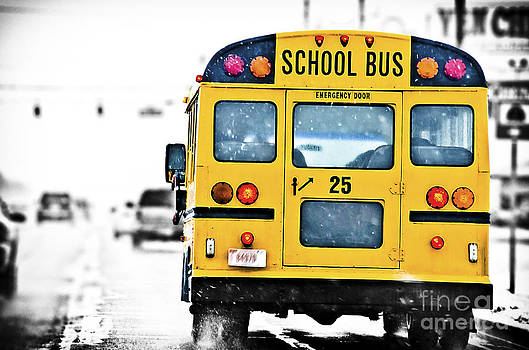 School bus by Alessandro Giorgi Art Photography