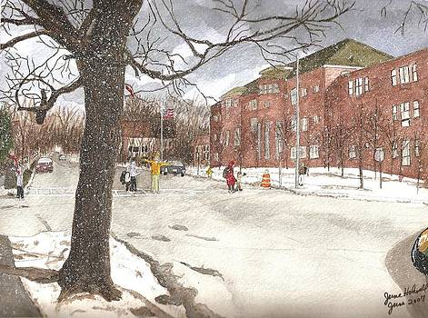 School Days in Medford - Brooks School by June Holwell