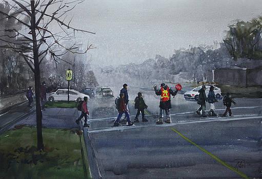 School Traffic by Helal Uddin