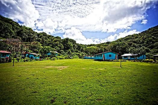 School yard on Beqa by JM Photography