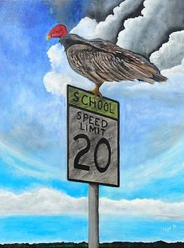 School zone reaper by Manny Chapa