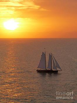 Christine Stack - Schooner America 2.0 Sailing in Key West Florida