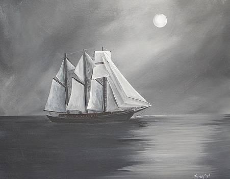 Schooner Moon by Virginia Coyle