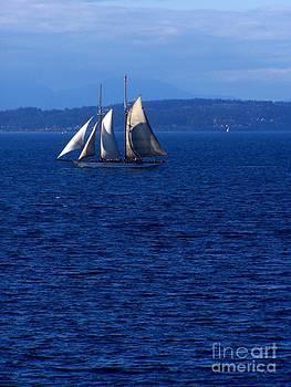 Vicki Maheu - Schooner on Puget Sound
