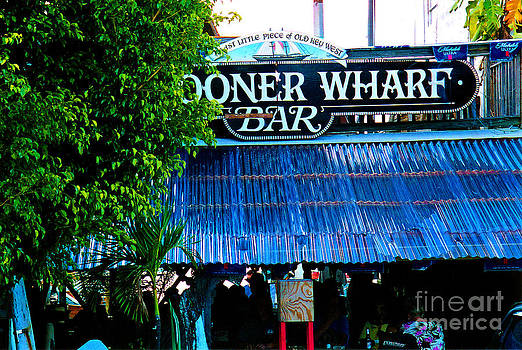 Susanne Van Hulst - Schooner Wharf Bar in Key West Florida