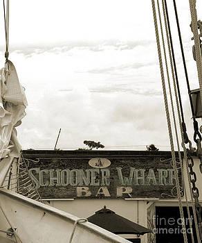 Kathi Shotwell - Schooner Wharf - Teal