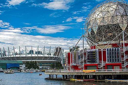 Science World and BC Place by Michele Wright