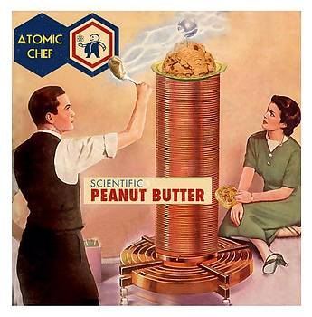 Scientific peanut butter by Alan McCormick