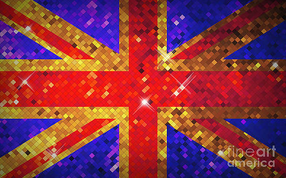 Scintillating UK Flag by Kitty Bitty