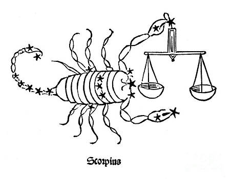 US Naval Observatory Library - Scorpius Constellation Zodiac Sign