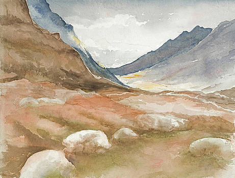 Scotish Landscape by Jean Moule