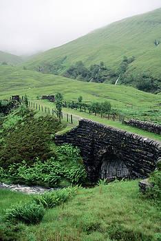 Scotland Highlands Stone Bridge by Vintage Images