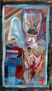 Scott Shaw Angel Body Cross by Scott Shaw