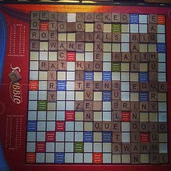 #scrabble  #2nd #whiskey #expert #lol by Mandy Shupp