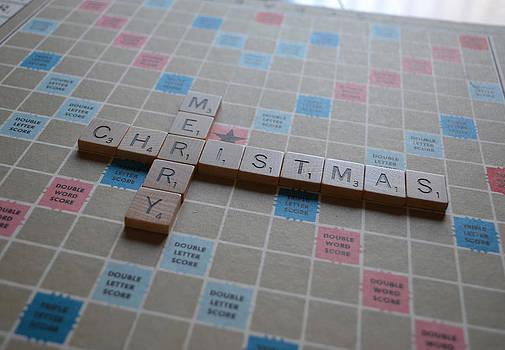 Bill Owen - Scrabble Merry Christmas