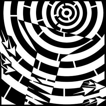 Screw Head Torque Maze by Yonatan Frimer Maze Artist