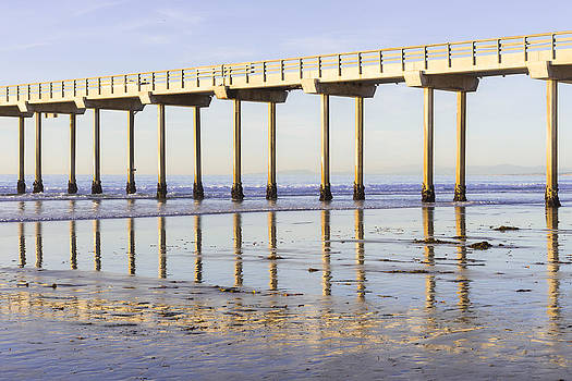 Priya Ghose - Scripps Pier Reflections