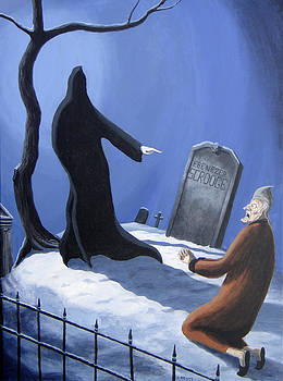 Dave Rheaume - Scrooge versus the Ghost of Christmas Future