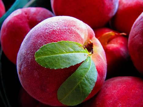Scrumptious Peach by Lisa Lieberman