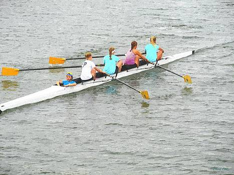 Buzz  Coe - Sculling Team on Palm River