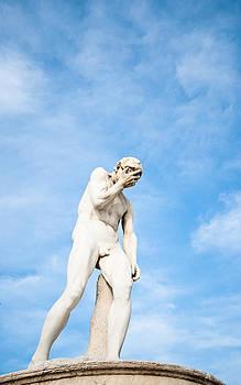 Sculpture in Paris by Pedro Nunez