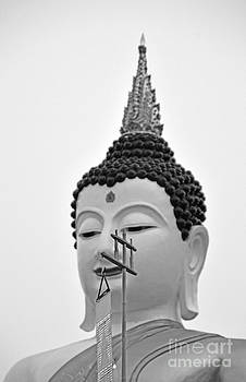 Sculpture Of Budda 2 by Bruce Lan