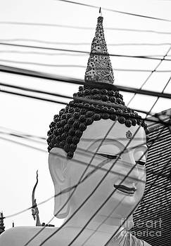 Sculpture Of Budda 3 by Bruce Lan