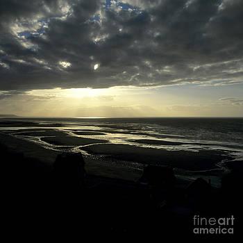 BERNARD JAUBERT - Sea and stormy sky