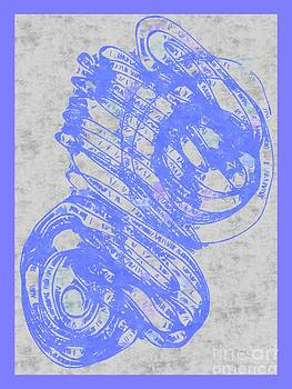 Sea blue note by Dana Hermanova